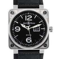 Bell & Ross BR0196 Aviation Black Dial Watch