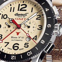 Ingersoll IN3224CR Bison No. 69 GMT Automatik 46mm