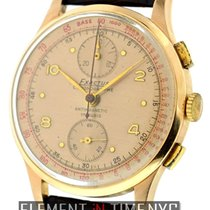 Exactus Vintage 1950's 18k Pink Gold Chronograph 37mm Ref.