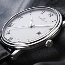Blancpain New Villeret Ultra Slim 40mm Automatic 6651-1127-55B