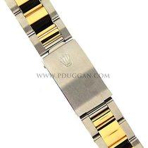 ロレックス (Rolex) 18k yellow gold and stainless steel Oyster bracelet
