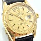 Rolex Day Date VINTAGE 18K 750 Gold 1960 TEXTIL Tritium Dial