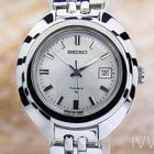 Seiko Lady Stainless Steel Vintage Manual Japanese Watch 1960s...