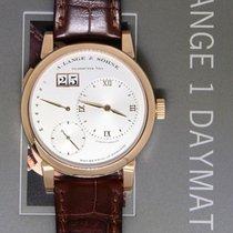 A. Lange & Söhne Lange 1 Daymatic 18k Rose Gold Mens Watch...