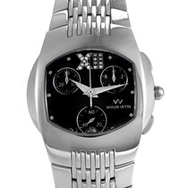 Wyler Vetta Men's Stainless Steel Quartz Chronograph Watch...