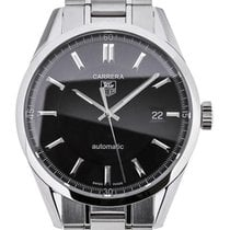 TAG Heuer Carrera Automatic 39 Stainless Steel Black Dial