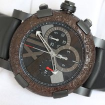 罗曼杰•罗姆 (Romain Jerome) Titanic DNA Chronograph PVD Steel Oxy...