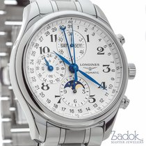 Longines Master Collection Chronograph 42mm Automatic Triple...