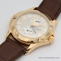 Patek Philippe Pink Gold Calatrava Travel Time Ref.5134R