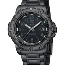 Luminox Blackout 38mm Steel Colormark Ladies Watch - Black IP...