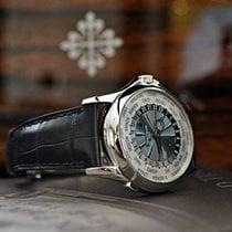 Patek Philippe World Time Platinum - Decor Soleil Bleu -...