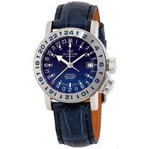 Glycine Airman 18 Automatic Blue Dial Men's Watch