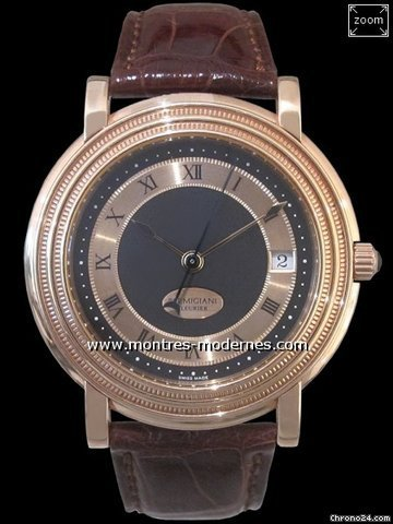 Parmigiani Fleurier Toric Automatic Saphir back