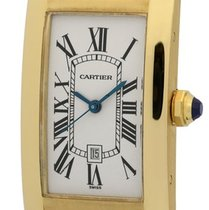 Cartier Tank Collection Tank Americaine 18k Yellow Gold 22mm ...