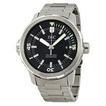 IWC Aquatimer Black Dial Stainless Steel Men's Watch
