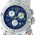 Breitling Emergency Mission Chronograph Blue Diamond A7...
