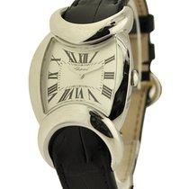 Chopard 129333 Carissima Quartz Boutique Edition in White Gold...