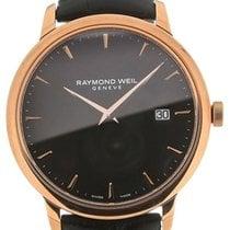 Raymond Weil Toccata 39 Quartz Black Dial Black Leather