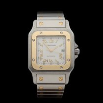 Cartier Santos Anniversary Dial Stainless Steel/18k Yellow...