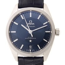 Omega Constellation Stainless Steel Blue Automatic 130.33.39.2...