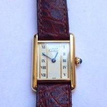 Cartier Tank Vermeil – women's watch – 1990