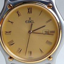 Ebel Classic Sport Wave, Herren, Gold Stahl