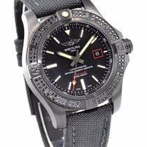 Breitling Avenger Blackbird 44 Black Titanium & Diamond...