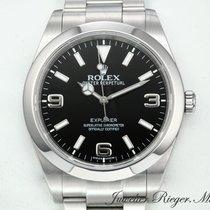Rolex EXPLORER I STAHL 214270 AUTOMATIK 39 mm 1 REHAUT