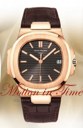 Patek Philippe 5711R - NAUTILUS JUMBO ROSE GOLD AUTOMATIC