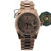 Rolex Daydate Pink Roman dial