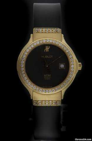Hublot Yellow Gold Classic Elegant Diamond 1391.3.054