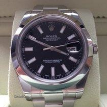 Rolex Datejust II 41 mm Ref. 116300 Schwarz Index
