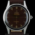 Omega Stainless Steel Brown Dial Vintage Automatic Constellation
