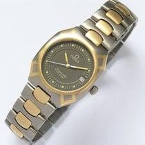 Omega Seamaster Polaris Herrenuhr Quarz in Titan / Gold