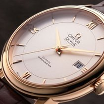 Omega [NEW] De Ville Co-Axial 39.5mm Rose Gold 424.53.40.20.02...