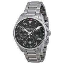 Hamilton Men's H64666135 Khaki Aviation Pilot Watch