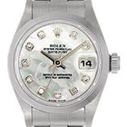 Rolex Ladies Rolex Date Watch 79160 Mother of Pearl Diamond Dial