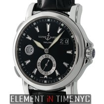 Ulysse Nardin Dual Time Big Date 42mm Stainless Steel Black Dial