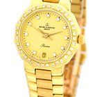 "Baume & Mercier Lady's 18K Yellow Gold  ""Diamond..."