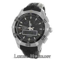TAG Heuer Men's  Aquaracer Chronotimer CAF1010 Quartz...