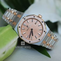 Audemars Piguet Royal Oak Lady 33mm Pink Gold Dial