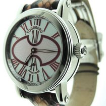 Tourneau Gotham MOP Mid-size Stainless Steel Analog Automatic...
