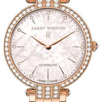 Harry Winston [NEW] Premier Ladies 36mm automatic 18K rose...