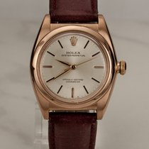 Rolex Oyster Bubble Back 14kt Rosegold / Rotgold
