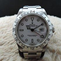 Rolex EXPLORER 2 16570 White Dial Mint Condition