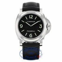 Panerai Luminor 44MM Manual Wind Stainless Steel Black Dial
