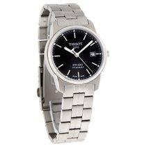 Tissot Mens Titanium PR100 Black Dial Bracelet Quartz Watch...