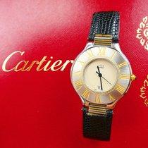 Cartier MONTRE MUST 21 HOCHFEINE STAHL HERREN ARMBANDUHR 35MM