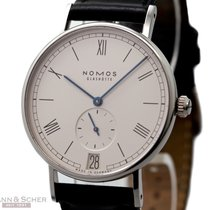 Nomos LUDWIG Ref-251 Stainless Steel Box Papers Bj-2011 Like New