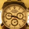 Rolex STEEL DAYTONA 116520 V SERIAL - WHITE DIAL